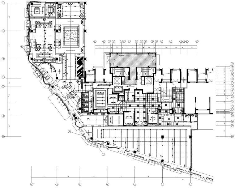 [上海]集艾设计G&A-海珀黄浦中式风格售楼处设计方案+施工图+高清效果图