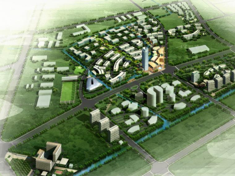 [上海]国际化工服务业中心规划设计方案文本
