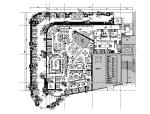 胡桃里音乐酒馆设计施工图(附效果图)
