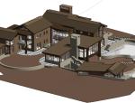 BIM模型-revit模型-群体建筑模型