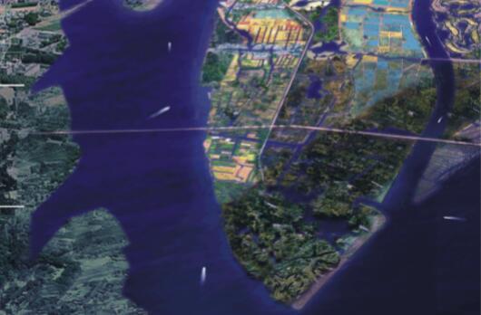 抚州市城市新区中心区控制性详细规划设计方案-总鸟瞰图