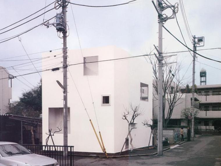 妹岛和世——李子林住宅建筑设计方案文(CAD+SU+JPG+PDF)