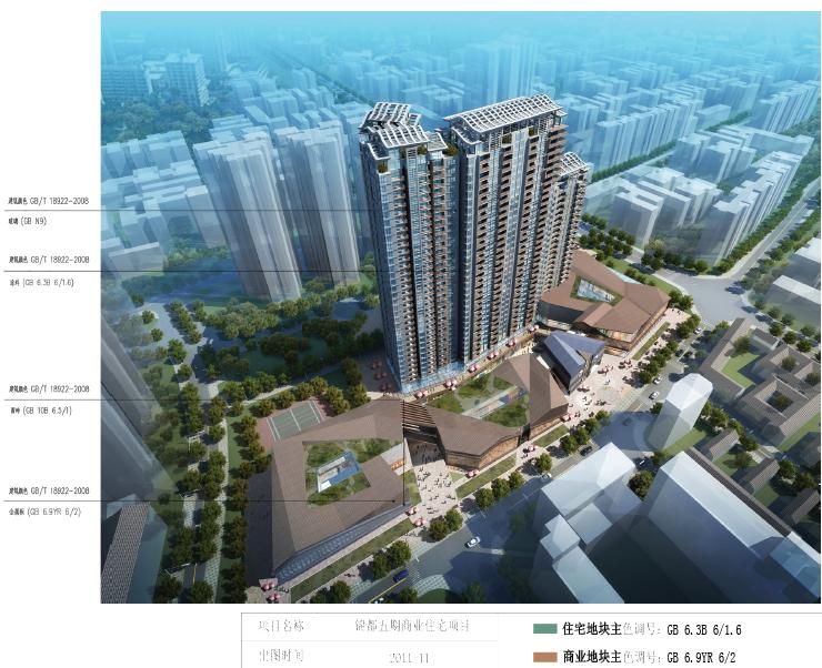 [四川]成都市锦都五期商业住宅设计方案文本
