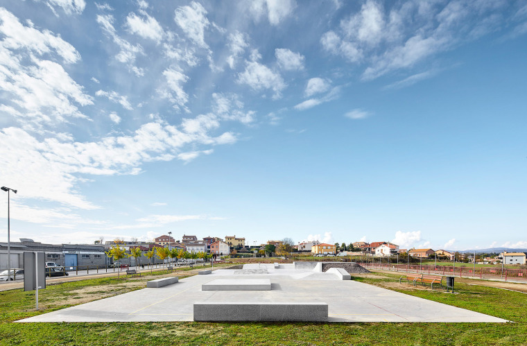 VENECIA功能性公园资料下载-巴塞罗那滑板公园