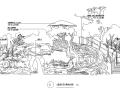 [海南]山地度假温泉酒店度假村景观设计施工图(全套CAD)