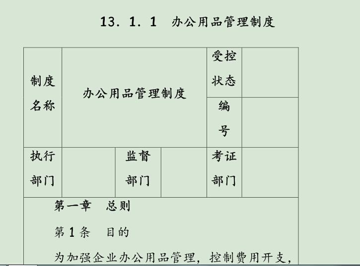 房地产企业管理制度手册-部分11