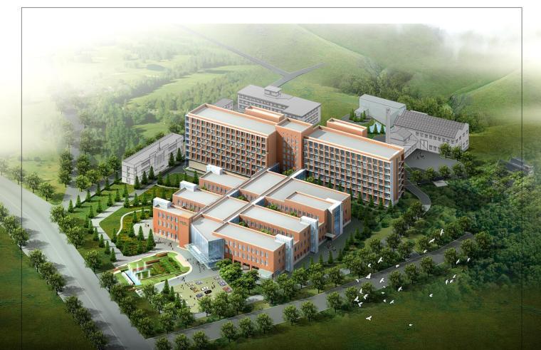 [辽宁]某第一人民医院总体规划及建筑设计文本JPG(48页)