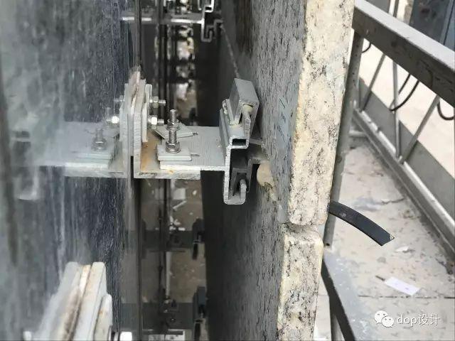 解析|外墙干挂石材幕墙标准化施工流程!_5