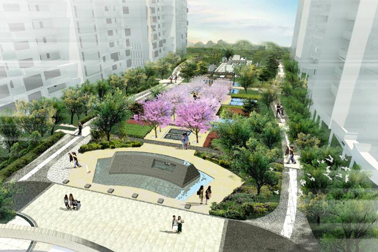[浙江]海宁城南新区某住宅地块园林景观设计