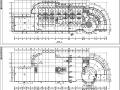 5套现代风格宾馆酒店建筑设计项目施工图