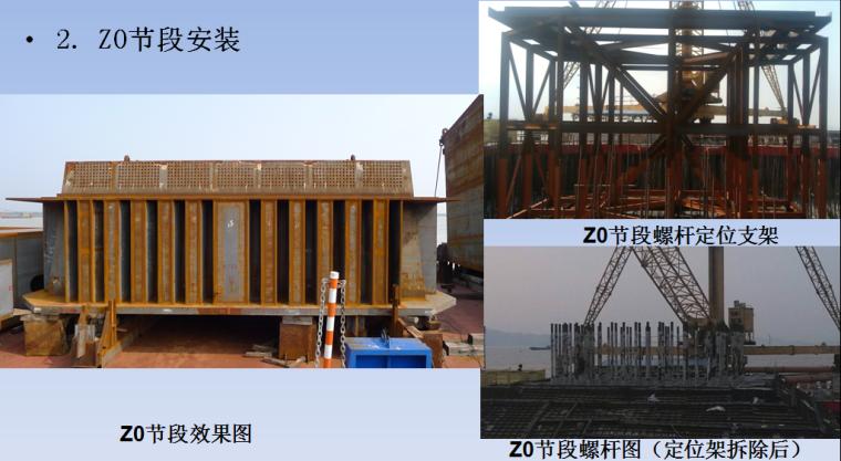 港珠澳大桥外海三塔斜拉桥施工创新工艺及关键技术-Z0节段安装