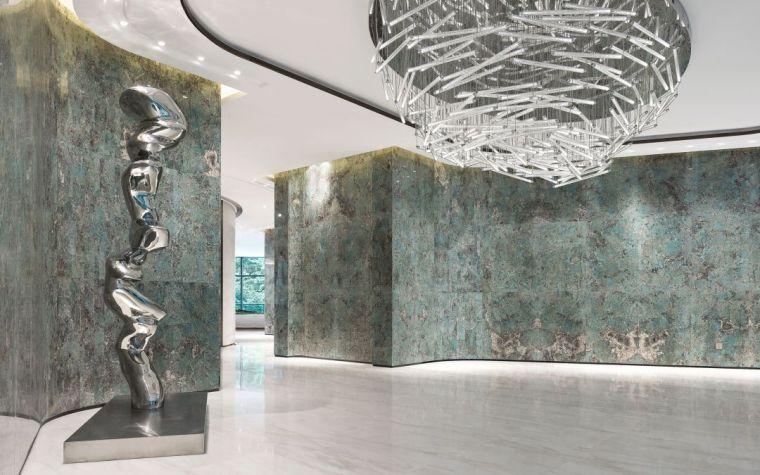 INNEST意巢设计资料下载-州西湖边的艺术会所, 7万颗光珠打造感官之美!