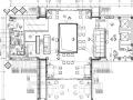 HKG-特色小镇旅游街景区销售展示厅+新中式民宿客栈全套装修施工图、机电施工图、建筑施工图