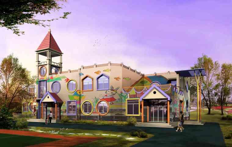 多层幼儿园建筑电气设计图