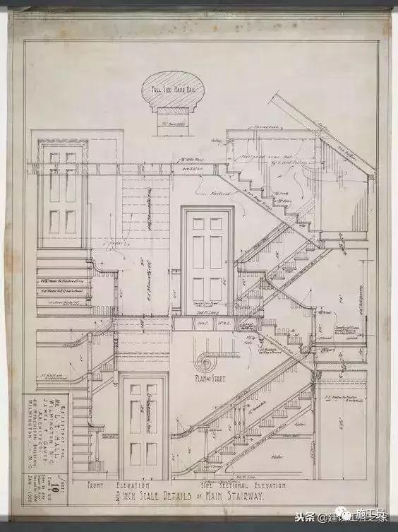 没有CAD的年代,施工图从哪里来?_31