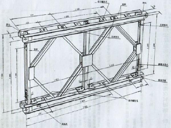 临时结构设计标准栈桥及计算书