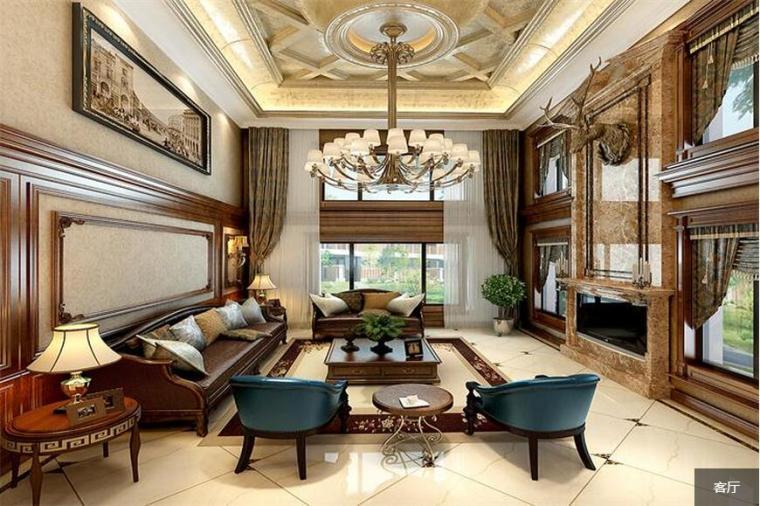 美式别墅设计,乐享生活真谛