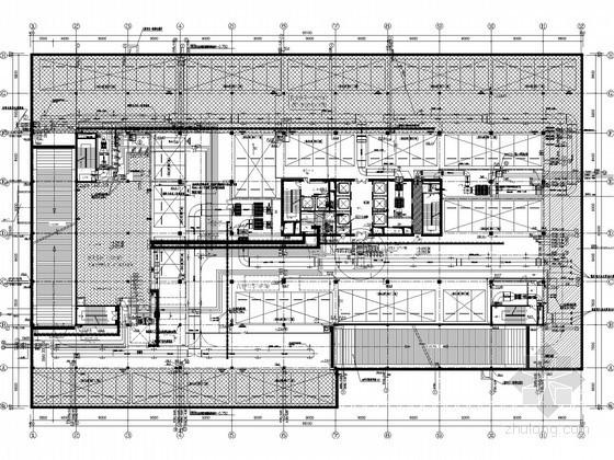 [江苏]综合型科技研发中心大楼给排水全套图纸(消防炮 泡沫灭火)