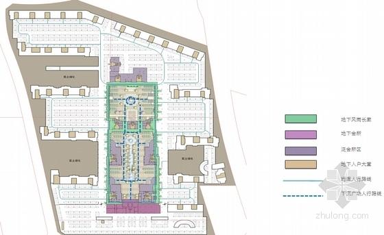 Artdeco风格高端住宅区规划分析图