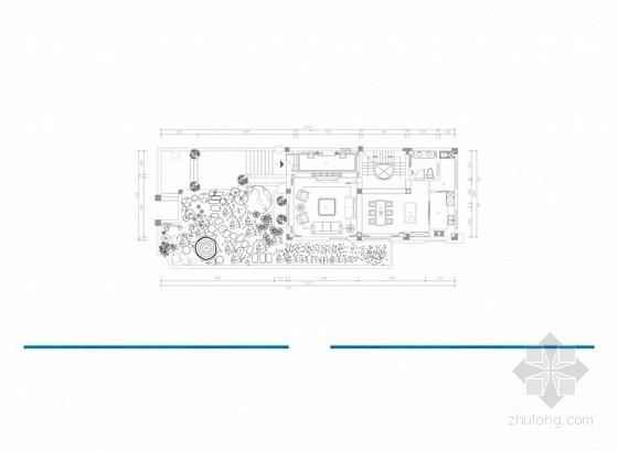[湖南]法式风格三层小别墅室内设计概念方案