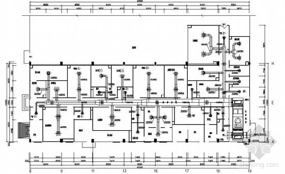 某固体制剂车间空调平面图