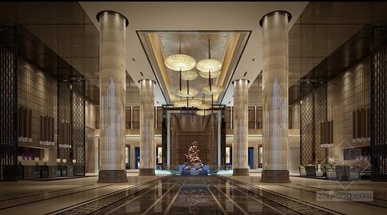 [青岛]高档温馨浪漫酒店设计方案含效果图-[青岛]高档温馨浪漫酒店设计方案效果图