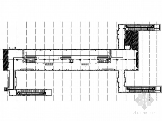 [江苏]地下两层岛式站台地铁车站施工图设计65张(含装修细节丰富)