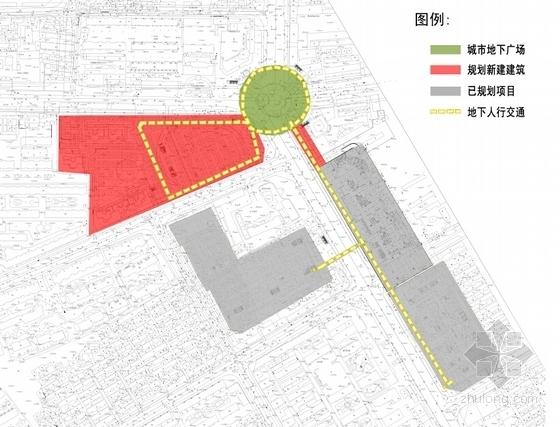 [内蒙古]地下空间商业建筑概念设计方案文本-地下空间商业建筑分析图