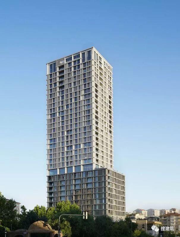 国外公寓楼建筑方案