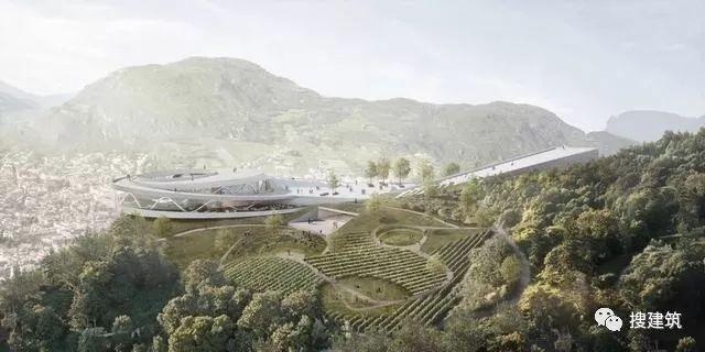 """一个新的""""地标性""""博物馆设计方案!!"""
