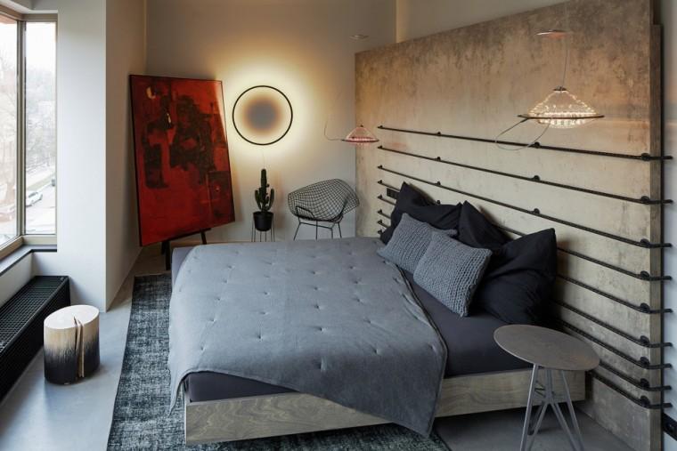 """""""非典型""""工业风-布拉格公寓设计_17"""