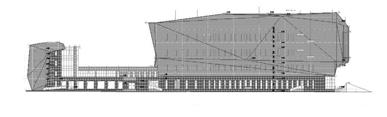 鄂尔多斯尔多斯博物馆建筑施工图