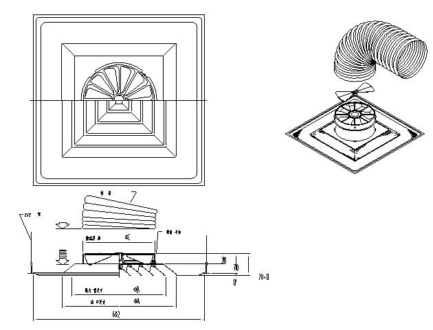 200个通风空调设计常用详细大样图