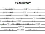 2015最新市政工程资料表格填写范例样本
