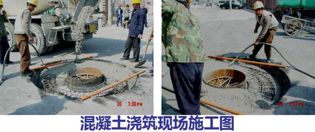 市政道路加筋检查井井盖施工工艺