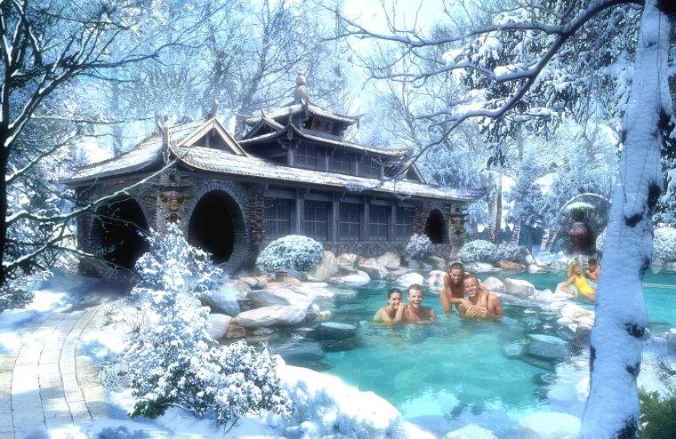 农旅景观:贵州云溪谷设计图_9