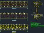 跨河管道桥架设计详图