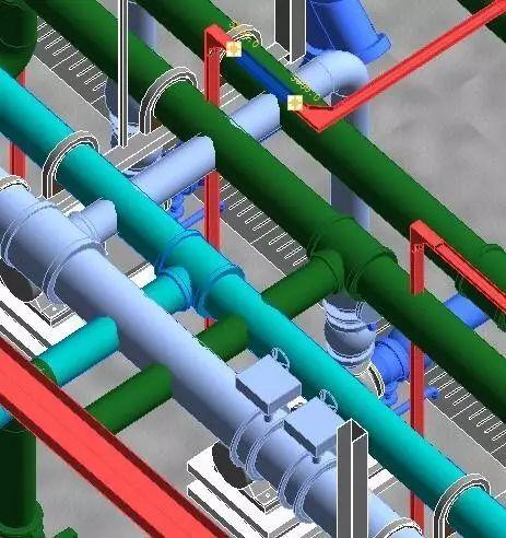 应用BIM优化,这个冷水机房机电工程规避了许多问题