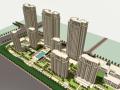 [南京]百米新古典风格塔式住宅建筑设计方案文本