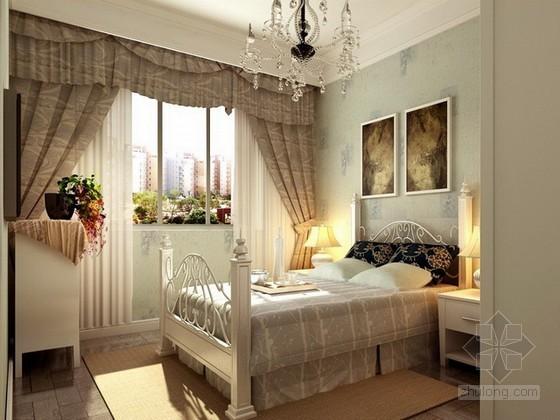 温馨女生卧室3d模型下载
