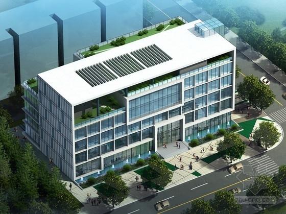 框架结构办公楼设计平面图资料下载-[安徽]5层框架结构行政办公楼建筑设计方案文本