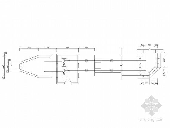 [安徽]农田水利提灌站新建工程泵房初步设计施工图