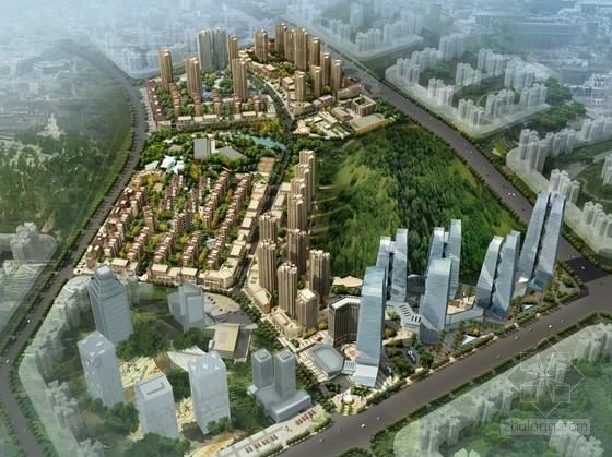 [贵州]核心地块城市综合体设计方案文本(多个地块)
