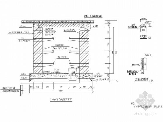[重庆]城市次干道电力工程施工图设计21张