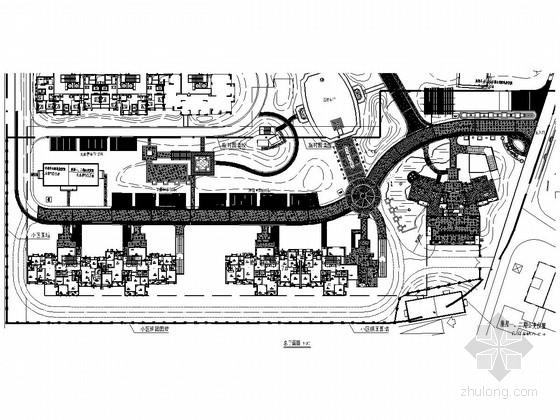 [武汉]高档住宅区一期高层区全套景观工程施工图