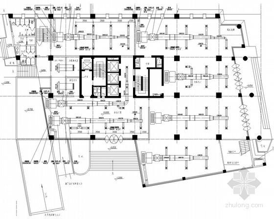 高层住宅建筑空调通风系统施工图(大样图多)