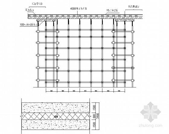 [贵州]框架结构办公楼工程模板施工方案