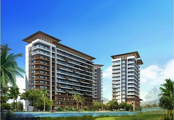 [湖南]公寓样板房装饰工程施工合同(8页)