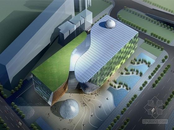 [广西]大型展览馆建筑设计方案文本(含CAD)