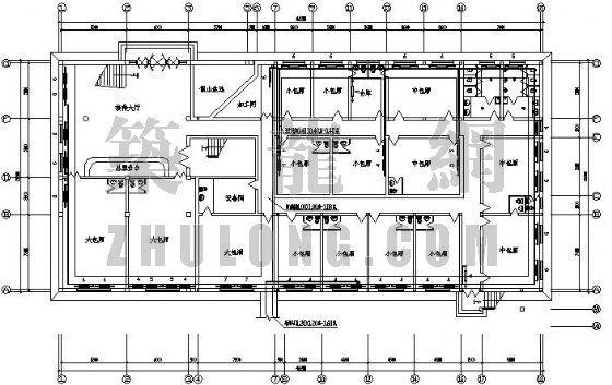 某酒店接楼工程采暖设计图
